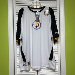 NFL team apparel Steelers top size L NWT